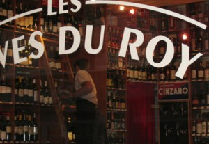 Les Caves du Roy, le magasin
